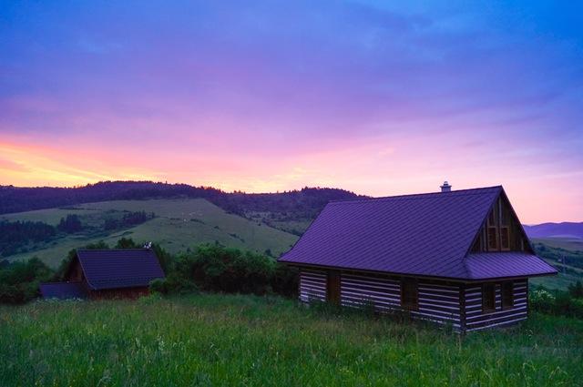 Hus langt ude på landet